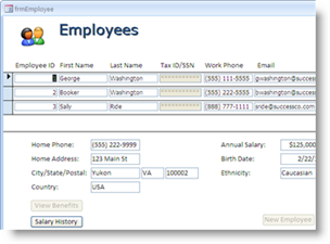 Click to view FormSafe for Access 1.3 screenshot